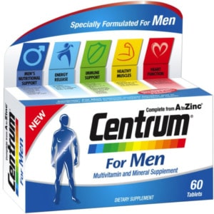 Витамины Centrum for man